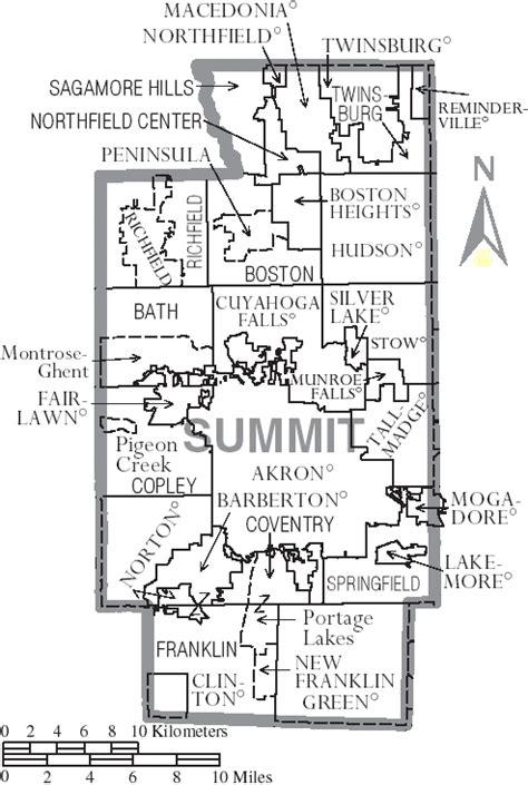 Summit County Zip Code Map.Summit County Ohio Zip Code Map