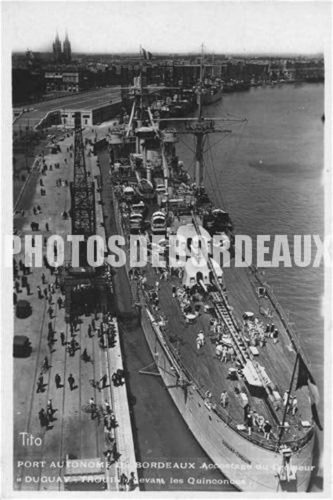 port autonome de bordeaux avec le duguay trouin 1900
