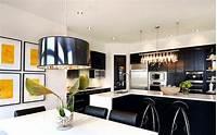black and white kitchen Black and White Kitchen Ideas