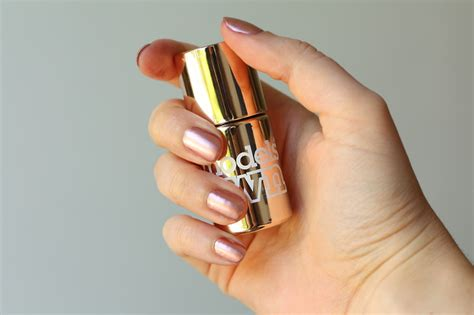 Rose Gold Manicure With Model's Own Chrome Rose