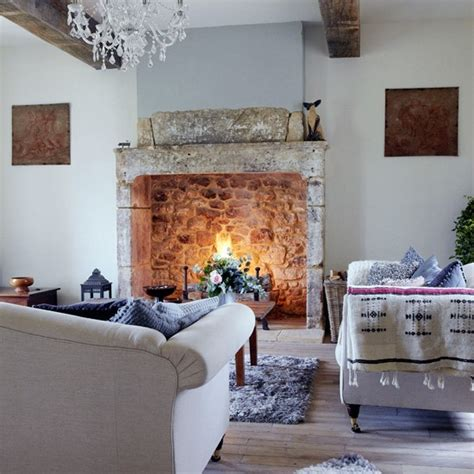 country living room ideas with fireplace winter living room decorating ideas housetohome co uk