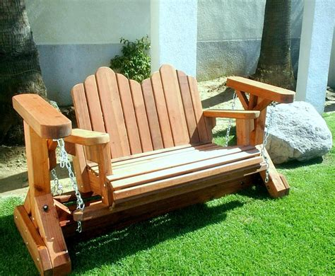 free adirondack glider bench plans 187 woodworktips