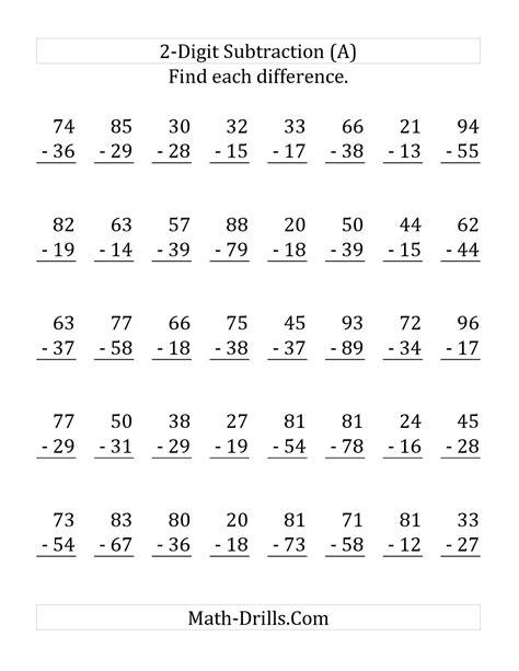 14 Best Images Of Math Worksheets Subtraction With Regrouping  Subtraction With Regrouping