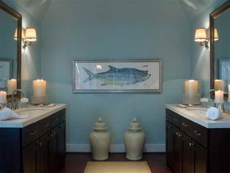 bathroom cottage design brown and blue bathroom ideas