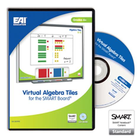 eai 174 algebra tiles for the smart board