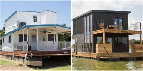 Fixer Upper Black Houseboat by Joanna And Chip Gaines Gave This Houseboat An Unbelievable
