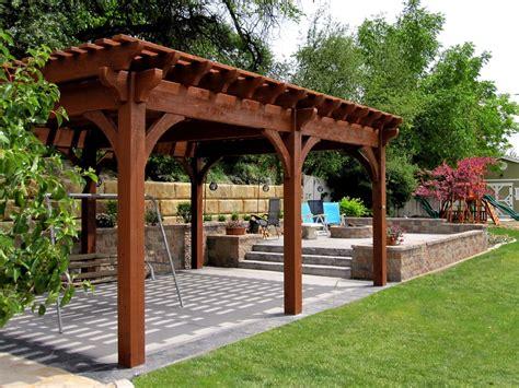 12 rich sequoia landscape ideas arbors awnings bridge decks pergolas western timber frame