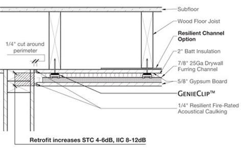 pliteq genieclip 174 rst applications floor ceiling