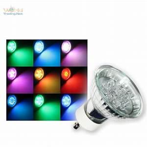 Philips Lampe Bunt : gu10 led strahler rgb farbwechsel bunt spot lampe 230v ebay ~ Markanthonyermac.com Haus und Dekorationen