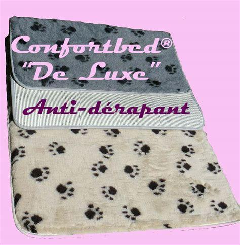 tapis confortbed 169 quot de luxe quot anti d 233 rapant couchage pour chien et chat animilo fr