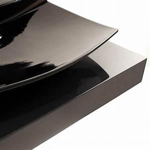Konsole Für Waschbecken : gsg ceramic design waschtisch unterbau piano aus pietraluce 100 130 180cm x55cm x12cm ~ Markanthonyermac.com Haus und Dekorationen