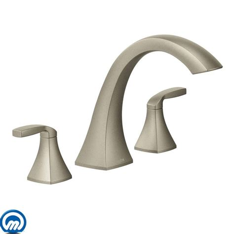 Moen Voss Faucet Direct by Moen T693bn Brushed Nickel Deck Mounted Tub Faucet