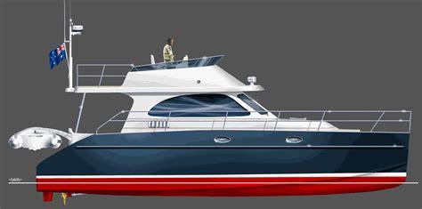 Catamaran Trawler Plans by Catamaran Plans Boat Plans Cat 46 Fiberglass
