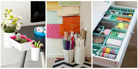 Ways To Organize Your Home Office  Desk Organization Hacks