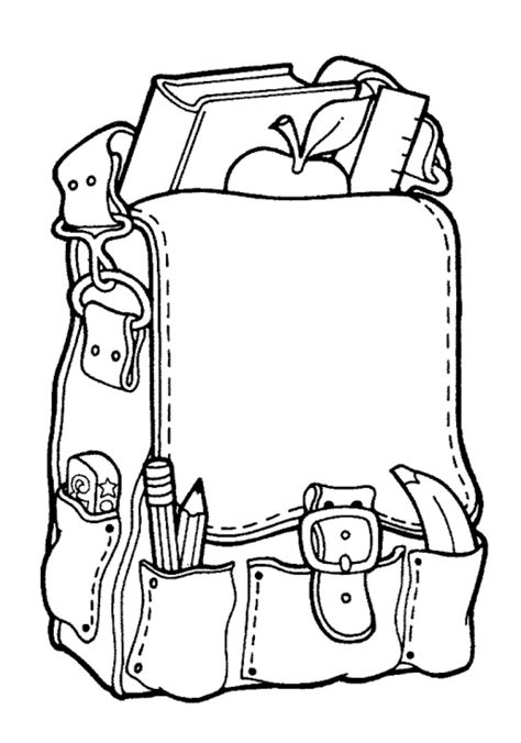 33 Best Back To School Coloring Pages Free Printables For Kids Gianfredanet