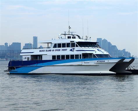 Catamaran Block Island by Athena Block Island Hi Speed Ferry Hudson River