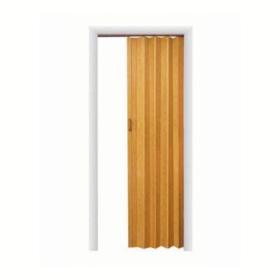 accordion doors home depot spectrum express one 48 in x 96 in vinyl oak accordion