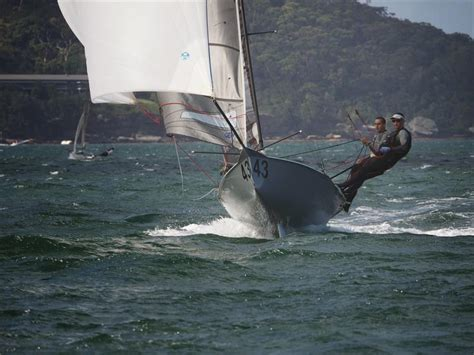 Skiff Club Double Bay by 12ft Skiff Interdominion Chionship At Sydney Harbour