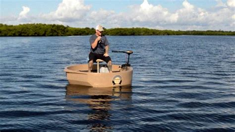 Round About Boat by Roundabout Watercraft Tarpon Round Boat Portable Round