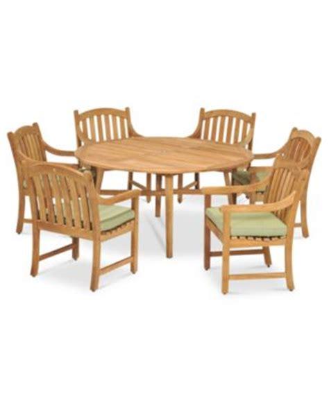 princeton teak outdoor patio furniture dining sets