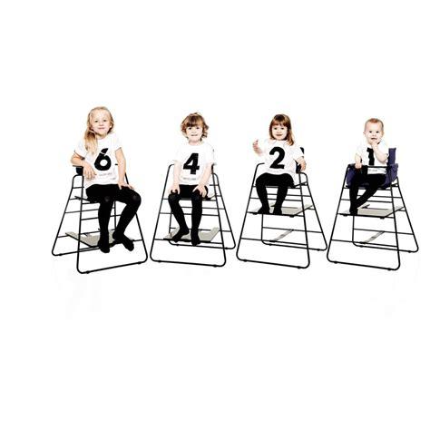 chaise haute towerchair noir budtzbendix design b 233 b 233
