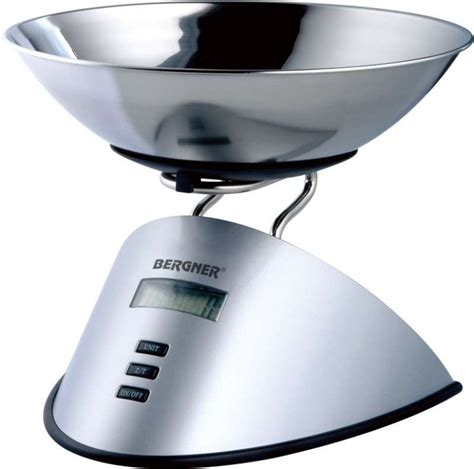 balance de cuisine electrical kitchen scale 5 kg bergner bg 2628