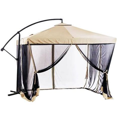 Offset Patio Umbrella W Mosquito Netting by Worth Buying Offset Patio Umbrella Instant Gazebo With