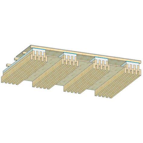 dalle de plancher 224 poutrelles bois bois ou bois b 233 ton c b s concept bois structure