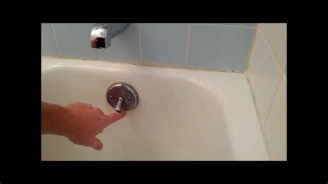 bathtub side water stopper bath tub trip lever bath tub stopper replacement or