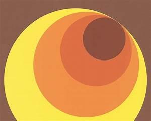 Tapete 70er Jahre : tapete as kreise braun rot orange 7013 12 retro 70er real ~ Markanthonyermac.com Haus und Dekorationen