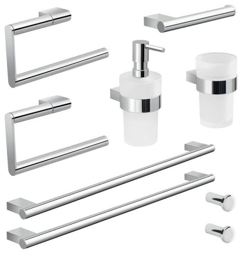 Modern Bathroom Hardware Sets With Amazing Example