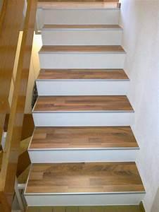 Teppich Auf Parkett : holz treppenstufen neu belegen ~ Markanthonyermac.com Haus und Dekorationen