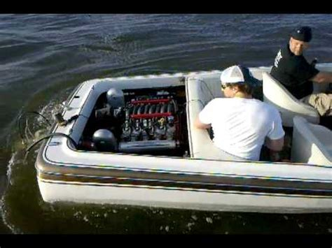 Ls Swap In Boat by Ls1 Liberator Jet Boat On The Maumee River Doovi