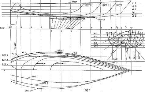 Catamaran Hull Lines by The Case For Lofting Of Boat Lines