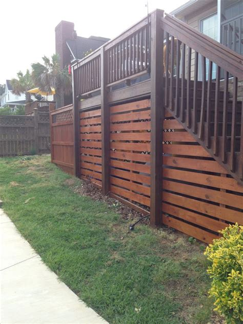 17 best ideas about deck skirting on deck front deck and porch lattice