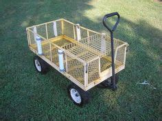Zoffinger Round Boat by Fish N Mate Wide Fishing Cart With Balloon Wheels By