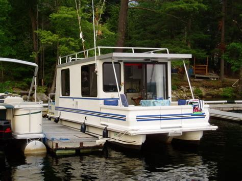 Catamaran Houseboat For Sale by Catamaran Cruiser Lil Hobo 30 1999 For Sale For 18 000