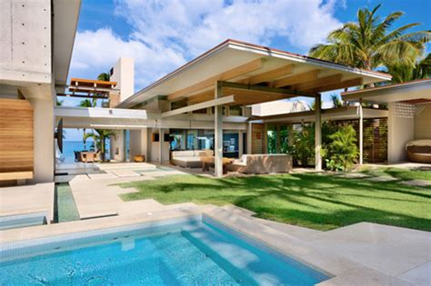 Tropical Home Style : Dream Tropical House Design In Maui By Pete Bossley