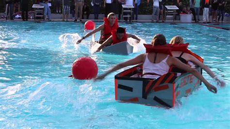 Cardboard Boat Videos by Cardboard Boat Regatta Youtube