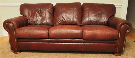 bradington leather sofa black rock galleries