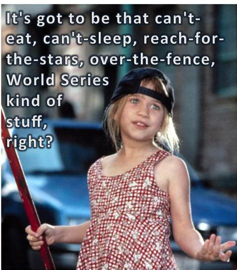 Wish Listthat Can't Eat, Can't Sleep, Reach For The Stars, Over The Fence, World Series Kind