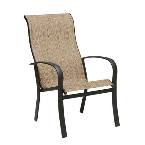 woodard 2ph426 fremont sling stackable outdoor high back