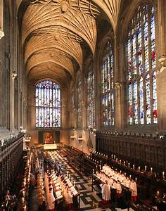 Evensong at Kings … check days and times : Cambridge ...