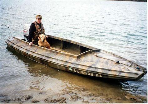 Duck Hunting Boat Build by Duckboat Devlin Designing Boat Builders