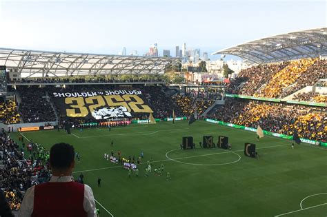 Successful Opener For Lafc At Banc Of California Stadium