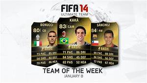 FIFA Ultimate Team - Team of the Week - January 8 - EA News