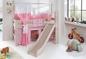 Vorhang über Bett : relita halbhohes bett leo online kaufen otto ~ Markanthonyermac.com Haus und Dekorationen