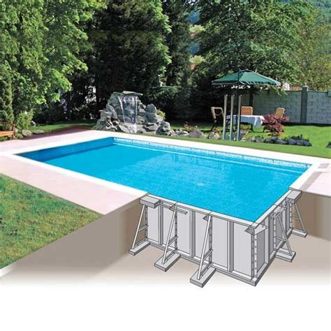 piscine enterr 233 e metal