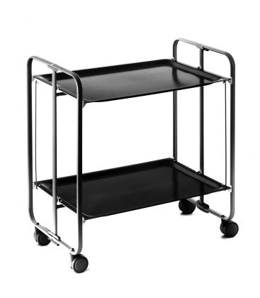 rolling and folding black table and black frame 3