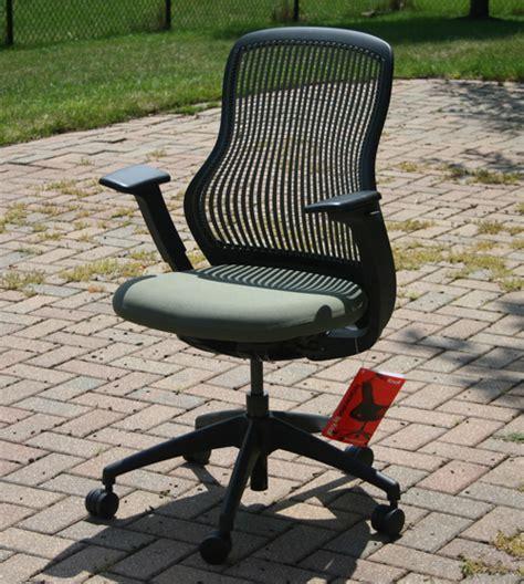 ergonomic office seating knoll regeneration chair